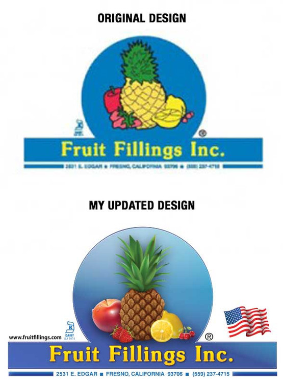 Fruit Fillings Before and After Logo
