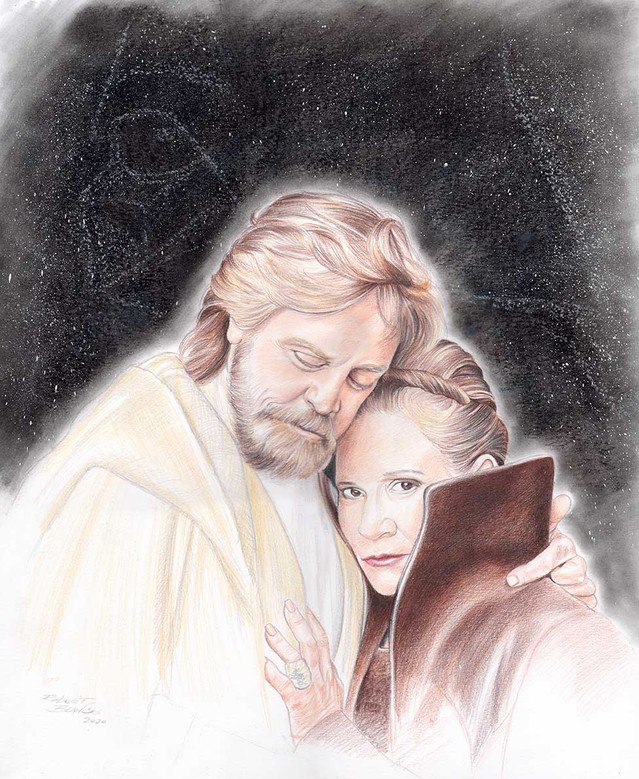Twins - Luke and Leia