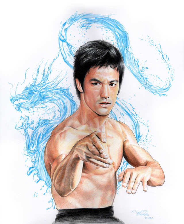 Be Water - Bruce Lee