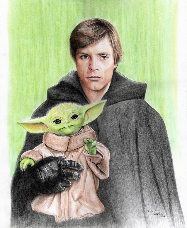 Luke and Grogu