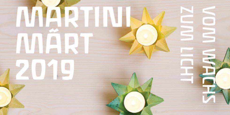 Martini Märt 2019 - Vom Wachs zum Licht