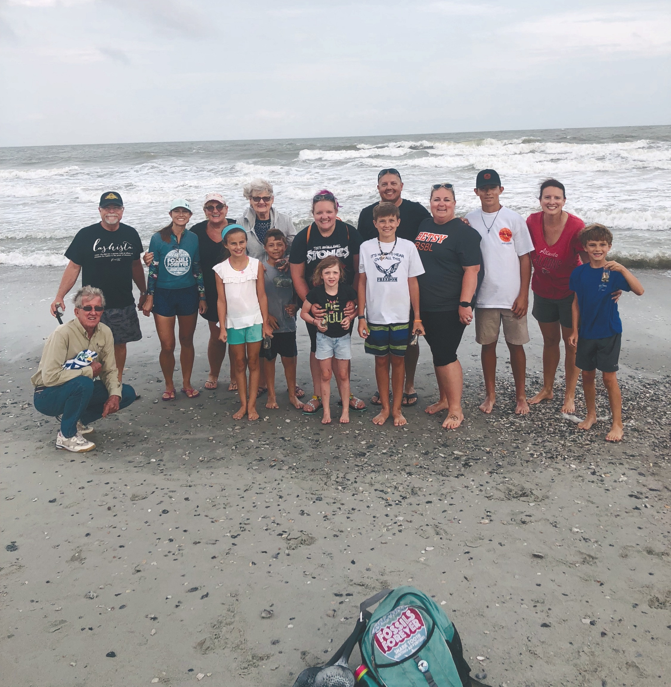 Private Group Shark Tooth Hunting