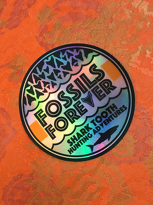 3 Inch Holographic Logo Sticker
