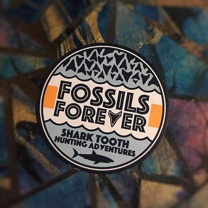 Fossils Forever Logo Magnet