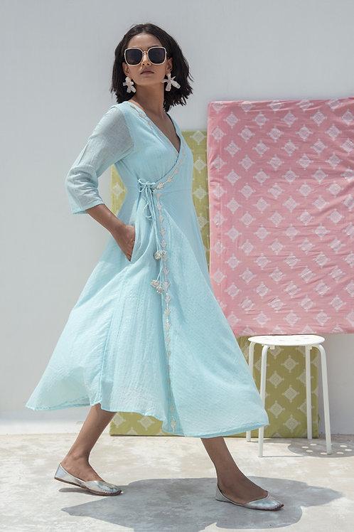 Neel Wrap Maxi Dress