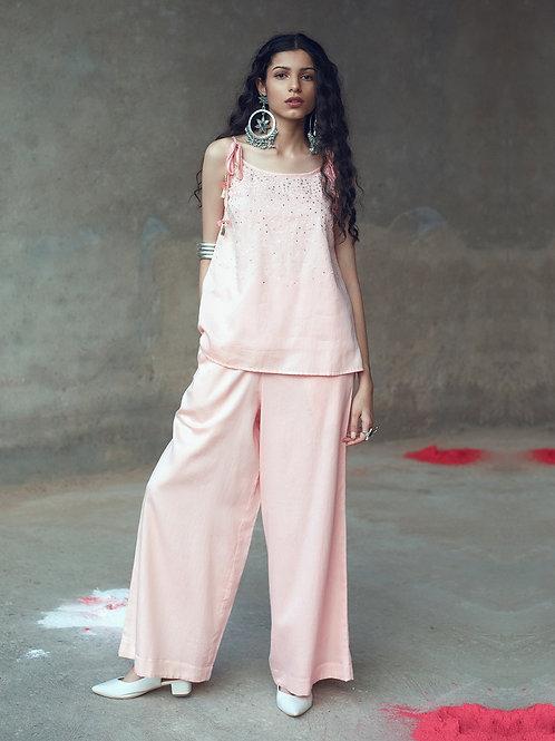 "Pink ""Lata"" two piece set"