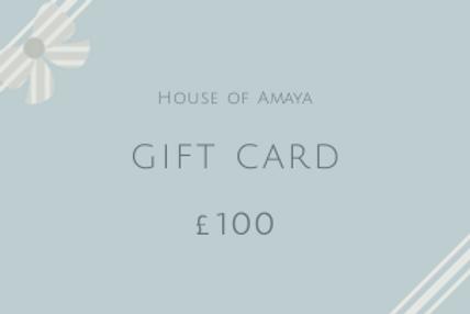 Gift Card £100