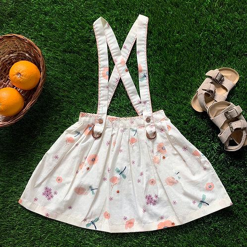 Spot the Ladybug Suspender Skirt
