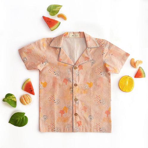 Blush Broccoli Unisex Hawaiian Shirt