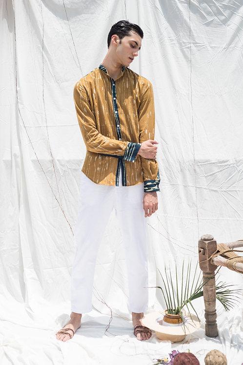 Neer Stand-Up Collar Men Shirt