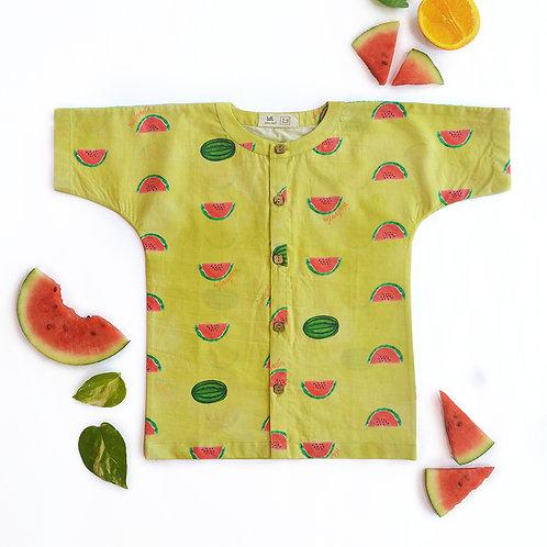 Watermelon Splash Casual Shirt