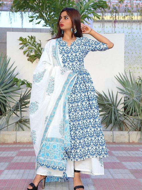 Cotton khadi kurta set