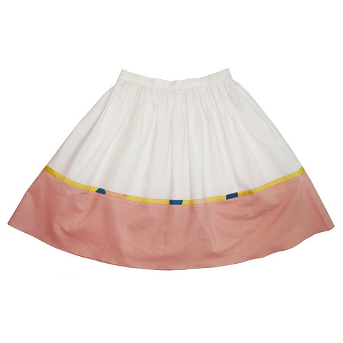 Squiggle Midi Skirt