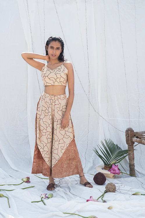 Mitti Ambar Layered Culottes