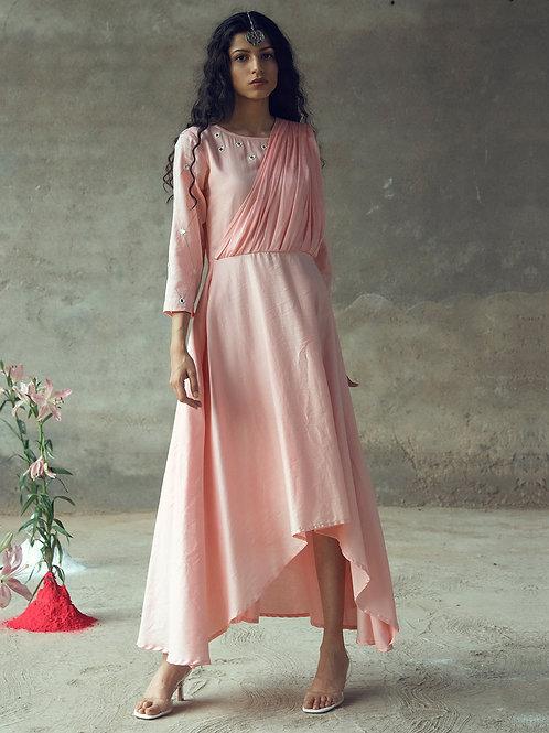 """""""Laxamana"""" Drape Dress"""