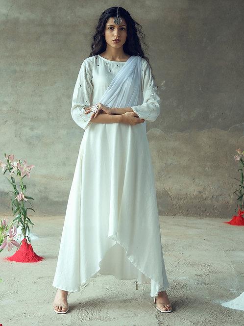 """Asita"" Drape Dress"