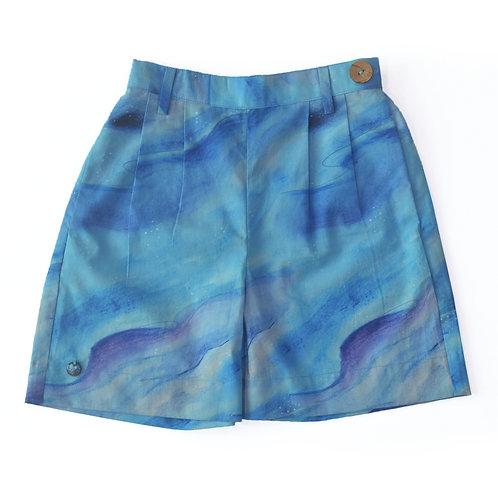 Cloudy Unisex Shorts