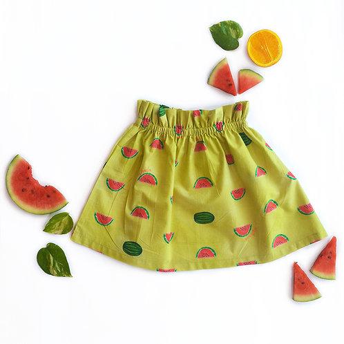 Watermelon Splash Skirt