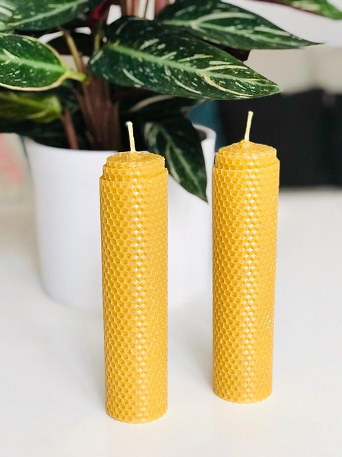 Rolled Beeswax Gift set