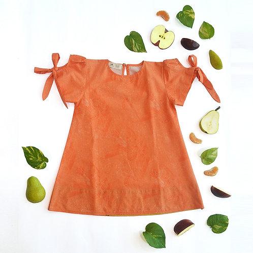 Coral Salad Tent Dress