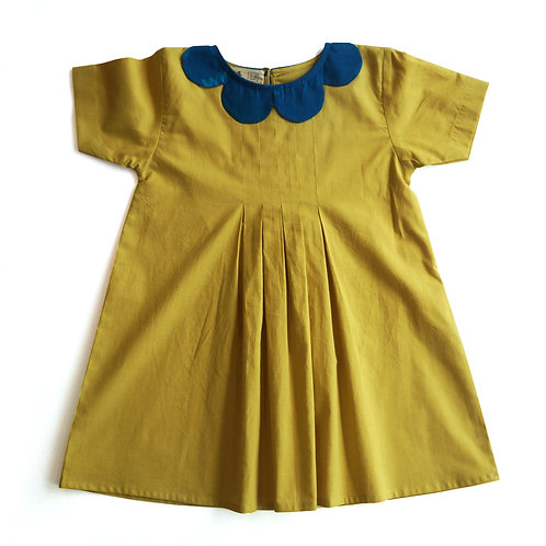 Sunshine Pleated Dress