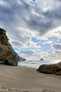 Private Beach Monterey