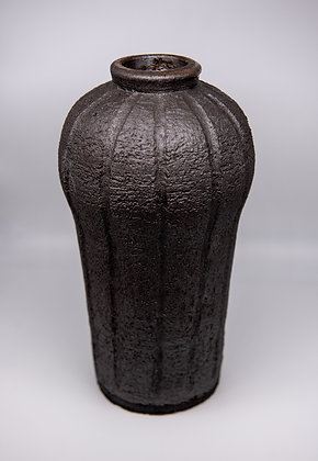 Tall Fluted Vase