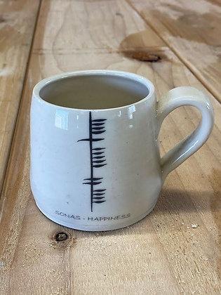 Ogham 'Sonas/Happiness' Mug