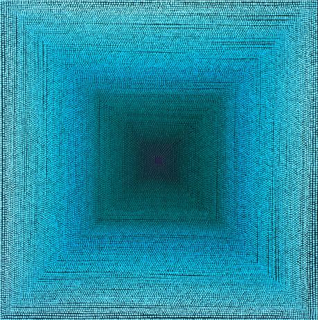 Escape Into Blue Green