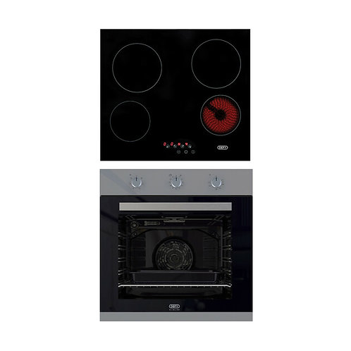 Defy oven and hob set DCB866