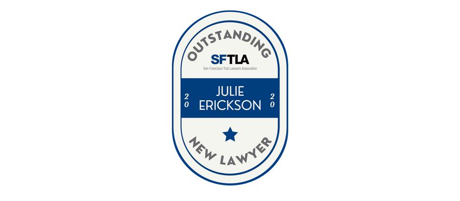 EKO Partner Julie Erickson Recognized by San Francisco Trial Lawyers