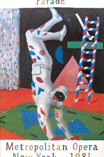 David Hockney: Harlequin from Parade