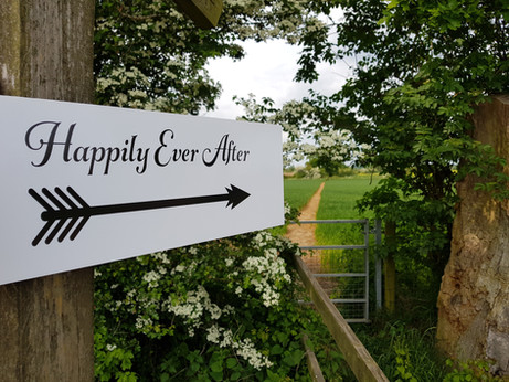 This way for happily ever after