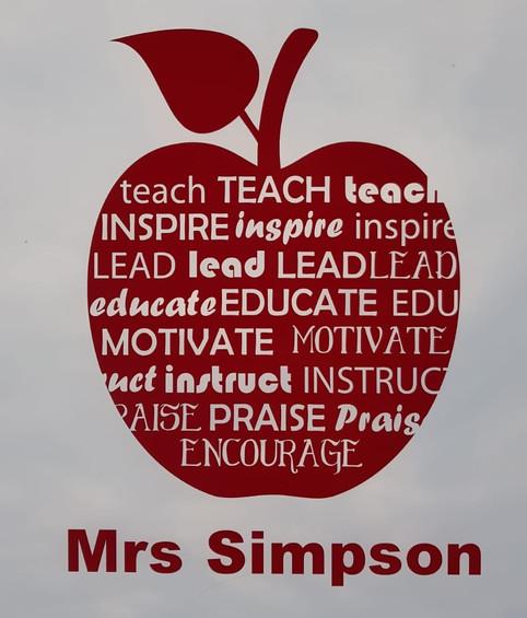 'An apple for the teacher'