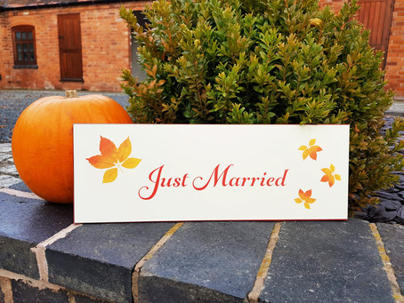 Wedding inspiration for an autumn celebration