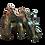 Thumbnail: Dragon,  longueur: 19 cm, hauteur: 16,5 cm, largeur: 9 cm