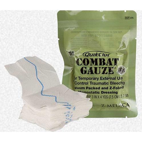 COMBAT GAUZE Z-FOLD HEMOSTATIC