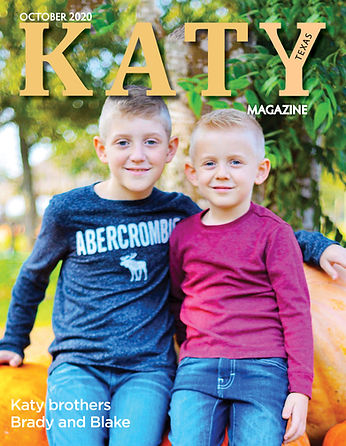 KATY MAGAZINE COVER BRADY AND BLAKE OCT.