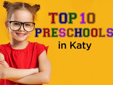 10 Local Preschool Programs Praised by Katy Moms