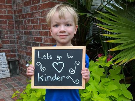 Katy Heart Recipient, Rowan Smith, Starts Kindergarten