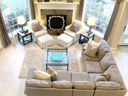 Katy Living Room - Yellow Rose Design