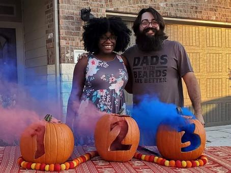 Katy Parents-To-Be Celebrate Triplets in Fun Seasonal Gender Reveal