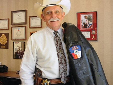 "Katy Mourns Passing of Former Chief of Police, ""Buddy"" Frazier"