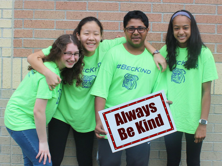 It's Cool to Be Kind at Beck Junior High