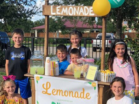 For Love & Lemonade: Child Cancer Warrior Raises Money for Leukemia Research