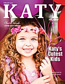 Katy Magazine Cover Cutest Kids February