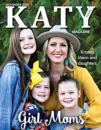 Katy Magazine November Issue Mann family