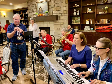 Katy's 'One A Chord' Troupe Delivering Christmas Cheer to Senior Citizens