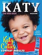 Katy Magazine FEB 2019 KIDS COVER ISSUE.