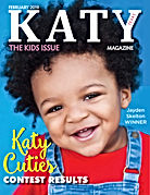 Katy Magazine FEB 2019 KIDS COVER ISSUE.